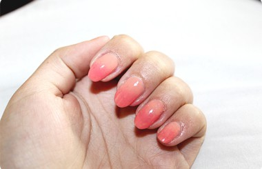 nailart sponge with Emily nail polish