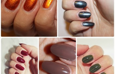 TOP 5 nail polish for autumn