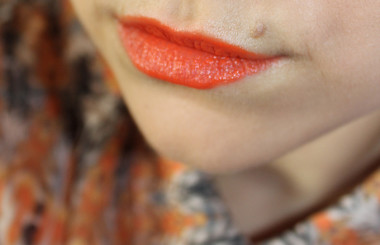 Orange Lips are the new Red Lips