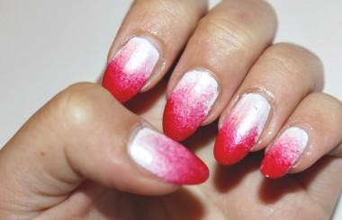 Red / White Nailart Sponge