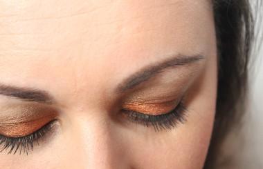 NYX Pigment Orange und NYX Pigment Walnut