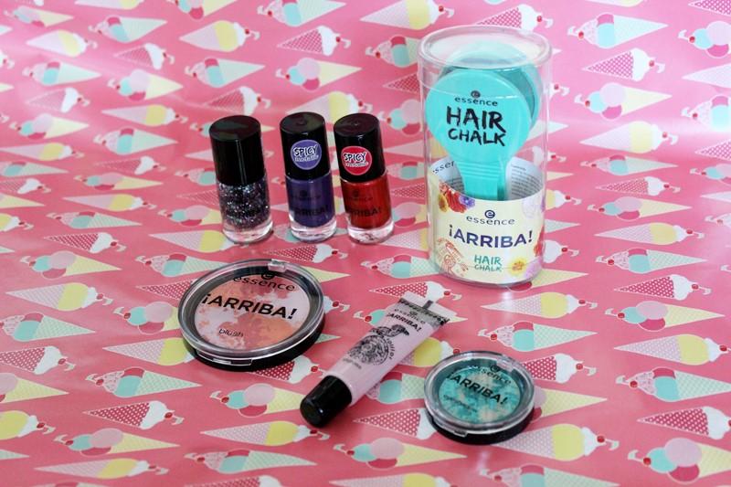 essence,arriba,le,te,lidschatten,nagellack,lipgloss,hair chalk,